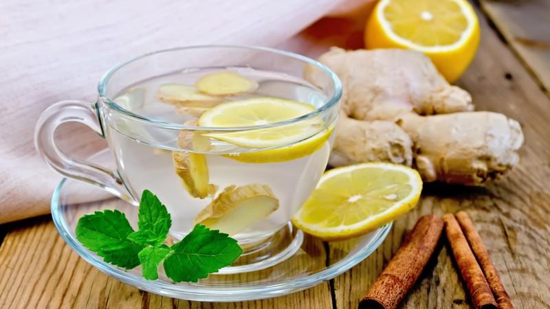 Zitronen-Ingwer Detoxtee